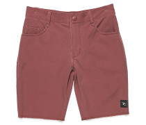 5 Pocket Shorts - Rot