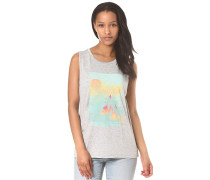 Beach Scene - T-Shirt für Damen - Grau