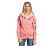 Active Logo - Kapuzenjacke für Damen - Pink