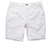 New Order Print X - Shorts für Herren - Grau