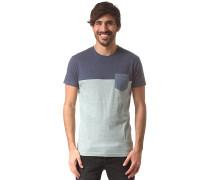 Block Pocket - T-Shirt für Herren - Blau