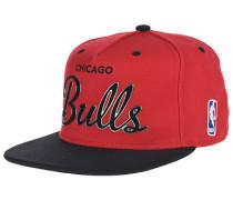 Sonic Chicago BullsSnapback Cap Rot