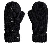 Shooting Star Mitten - Handschuhe für Damen - Schwarz