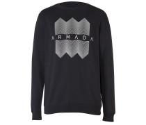 Meta Crew - Sweatshirt für Herren - Schwarz