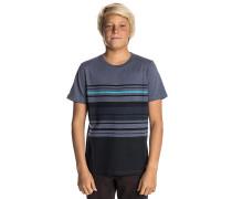 Faded Striped - T-Shirt für Jungs - Blau
