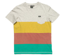 Nation Stripe T-Shirt - Weiß