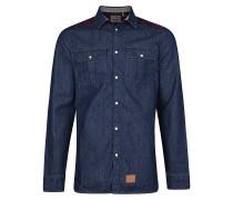 Violator Pattern Flannel - Hemd für Herren - Blau