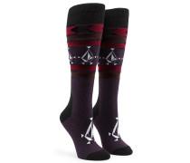 Spear - Snowboard Socken für Damen - Lila