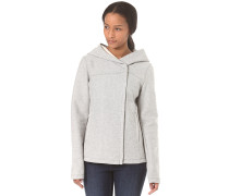 Cosy Hood Bonded - Kapuzenjacke für Damen - Grau