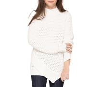 Burn - Strickpullover für Damen - Weiß