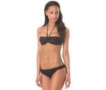 Bandeau / Base Gi - Bikini Set für Damen - Schwarz