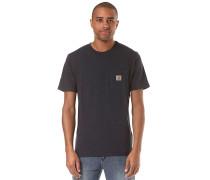 Pocket - T-Shirt - Blau