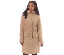 Sania - Mantel für Damen - Beige