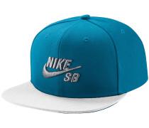 Pro Snapback Cap - Blau