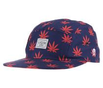Budz N Stripes 5-PanelSnapback Cap Blau