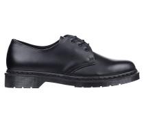 1461 Mono Smooth Fashion Schuhe - Schwarz