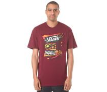 Stenciled II - T-Shirt für Herren - Rot