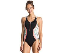 Kir Zipped - Badeanzug für Damen - Schwarz