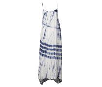 Silver Bloom - Kleid für Damen - Blau