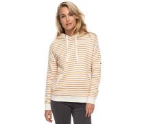 Shoal Stripe - Kapuzenpullover für Damen - Gelb