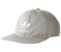 Trefoil Snapback Cap - Grau