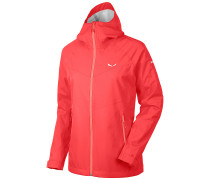 Puez (Aqua 3) - Outdoorjacke für Damen - Rot
