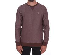 Static Stone Crew - Sweatshirt für Herren - Rot
