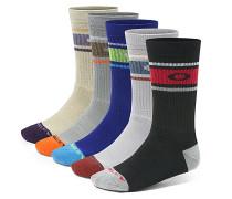 Performance Basic Crew 5 Pack - Socken für Herren - Mehrfarbig