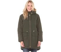 Parka - Mantel für Damen - Grün