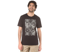 Ornemental Pocket - T-Shirt - Schwarz
