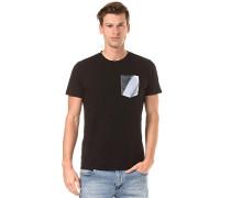 Inlay - T-Shirt - Schwarz