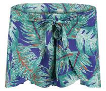 Tie Front Holiday - Shorts für Damen - Blau