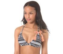 Fixed Triagle - Bikini Oberteil für Damen - Schwarz