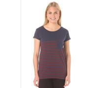 Route - T-Shirt für Damen - Blau