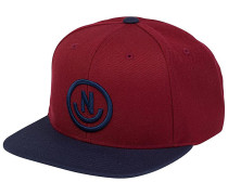 Daily Smile Snapback Cap - Rot