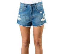 Crowd Surf - Shorts für Damen - Blau