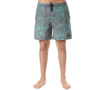 Shadow Leaf Elastic - Boardshorts