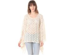 Knit Poncho - Oberbekleidung für Damen - Braun