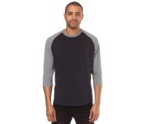 Basic Raglan Qtr - T-Shirt - Blau