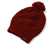 Pegasus Pom - Mütze für Damen - Rot