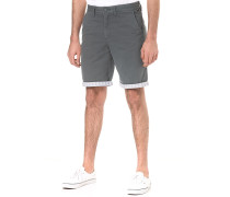 Authentic Printed Cuff - Shorts für Herren - Grau