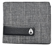 Showtime Bi-Fold ID ZipGeldbeutel Grau