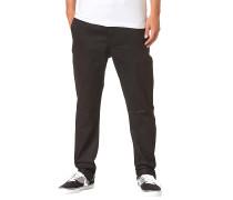 Slim Skinny - Stoffhose für Herren - Schwarz