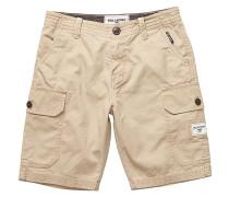 Scheme Wash - Cargo Shorts für Jungs - Beige