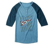 Manchester - Langarmshirt für Jungs - Blau