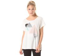 Geo - T-Shirt für Damen - Weiß