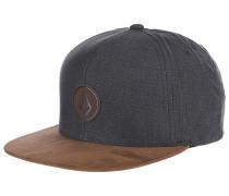 Quarter Fabric - Snapback Cap für Herren - Braun