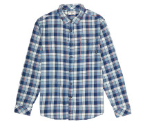 Fremont Flannel - Hemd - Blau