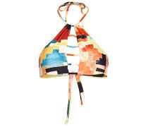 Lost Luv High Neck - Bikini Oberteil für Damen - Mehrfarbig