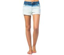 Pacha Denim High Waist - Shorts für Damen - Blau